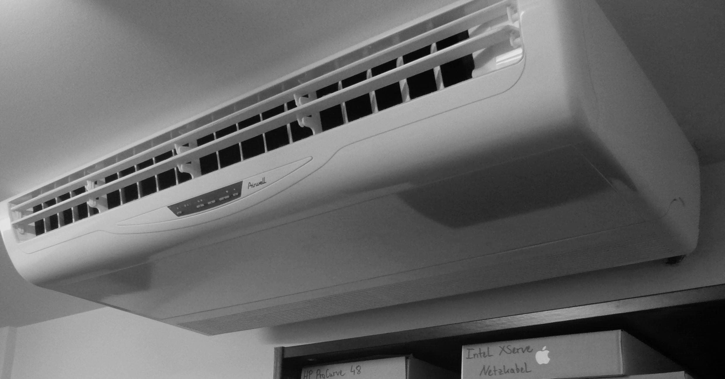 der sommer kann kommen 2 klimager t im serverraum l uft. Black Bedroom Furniture Sets. Home Design Ideas