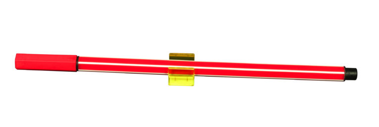 stifthalter-selbstklebend-gelb-mit-rotem-stift