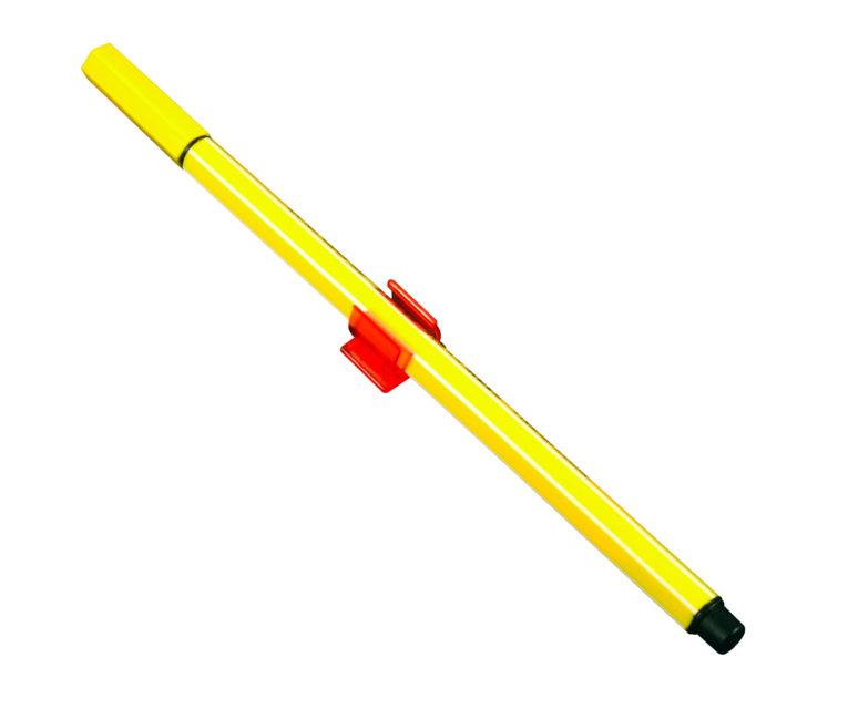 stifthalter-selbstklebend-rot-mit-gelbem-stift