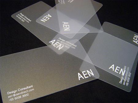 Visitenkarten Aus Transluzentem Kunststoff Tipps Tricks