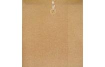 Umschlag mit Bindfadenverschluss