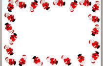 Weihnachts-Briefumschlag