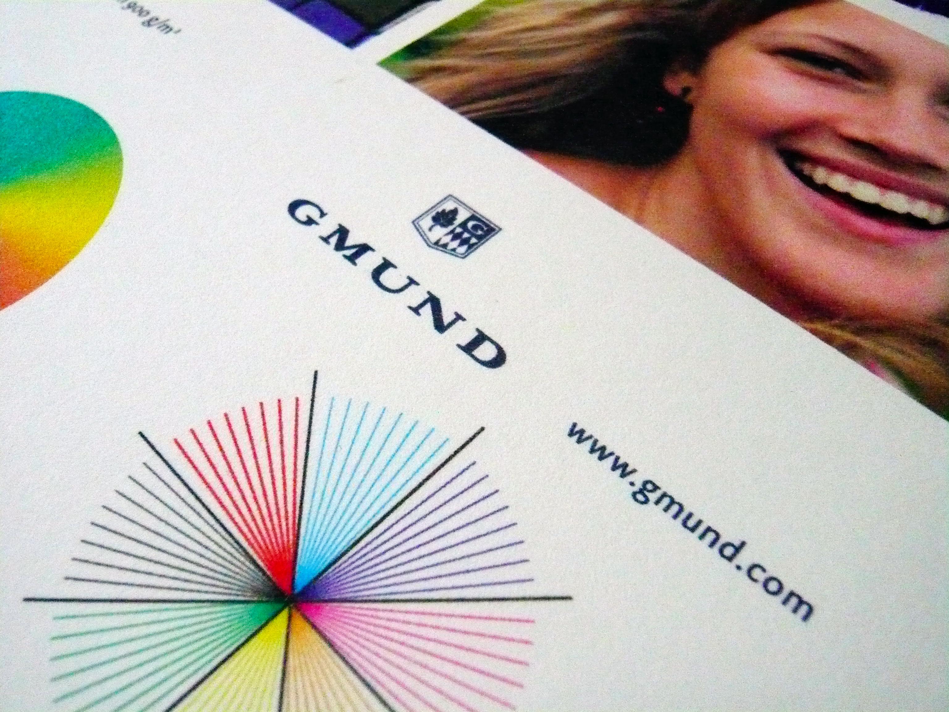 Drucktest auf Gmund Cotton 900g