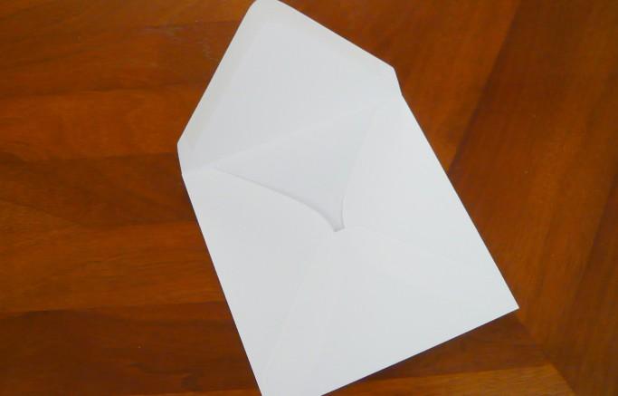 Quadratische Briefumschläge, 130 x 130 mm, nassklebend, digital bedruckbar