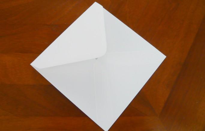 Umschläge quadratisch, 130 x 130 mm