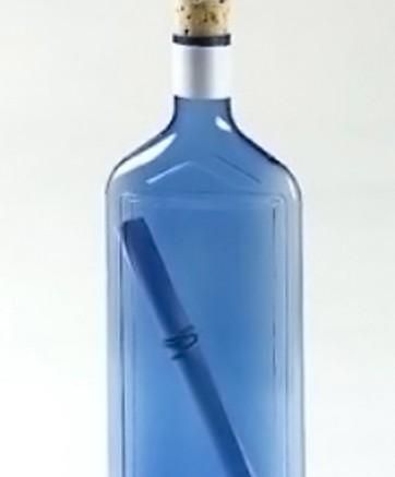 Auch ungewöhnliche Mailings lassen sich im Digitaldruck realisieren: Die Flaschenpost