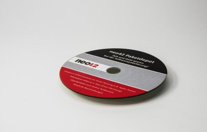Digitaler Siebdruck auf CD-Rohlinge