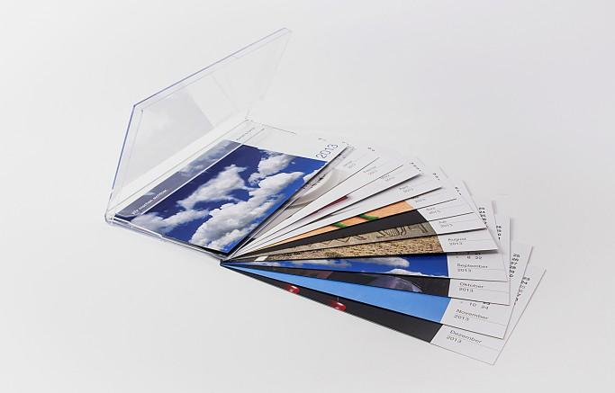 Tolle, individuelle Monatsblätter in der Kalenderbox