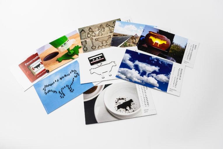 Jede Seite ein besonderes Motiv, kleine Auflagen im Digitaldruck