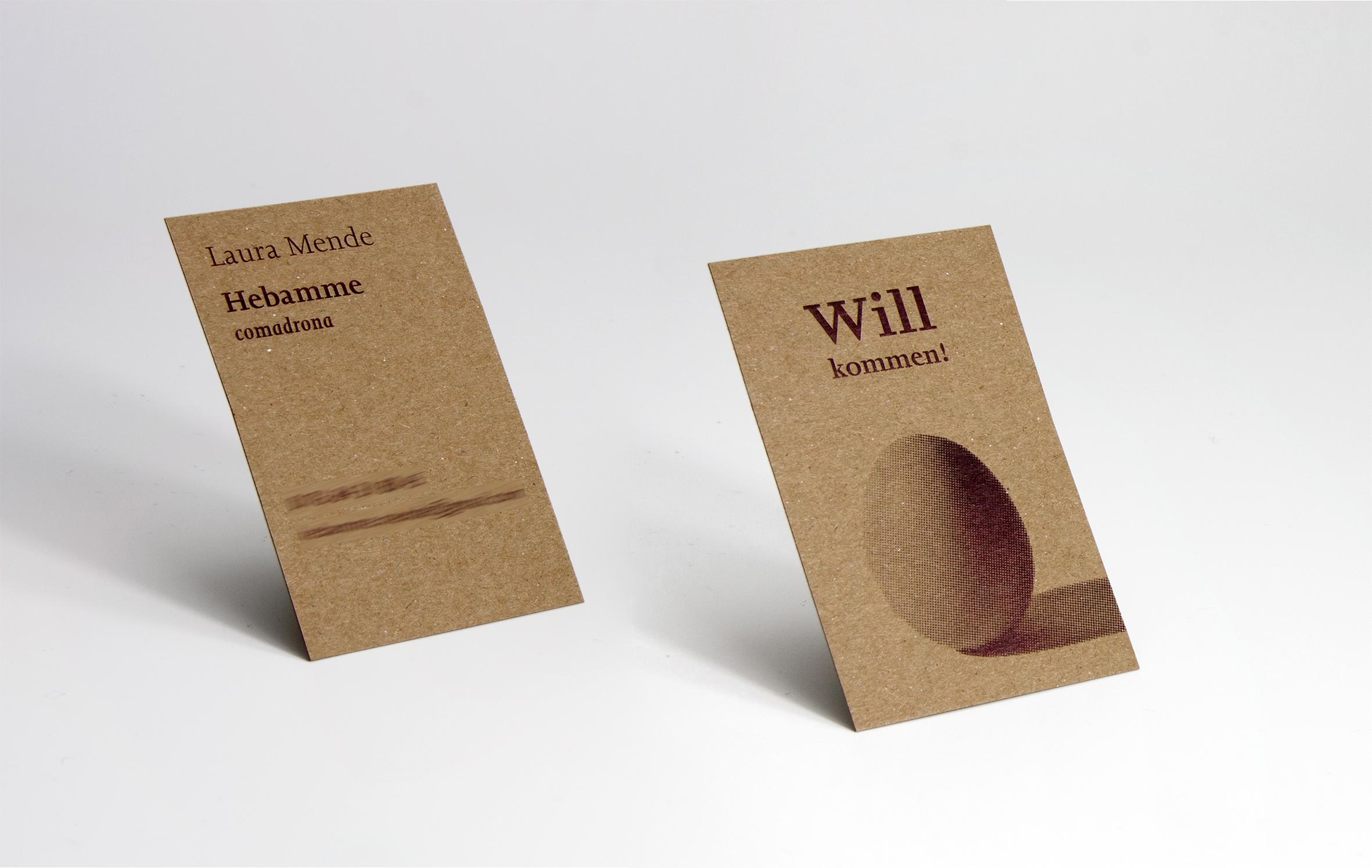Witzige visitenkarte auf 350g kraftkarton tipps tricks for Visitenkarten ideen