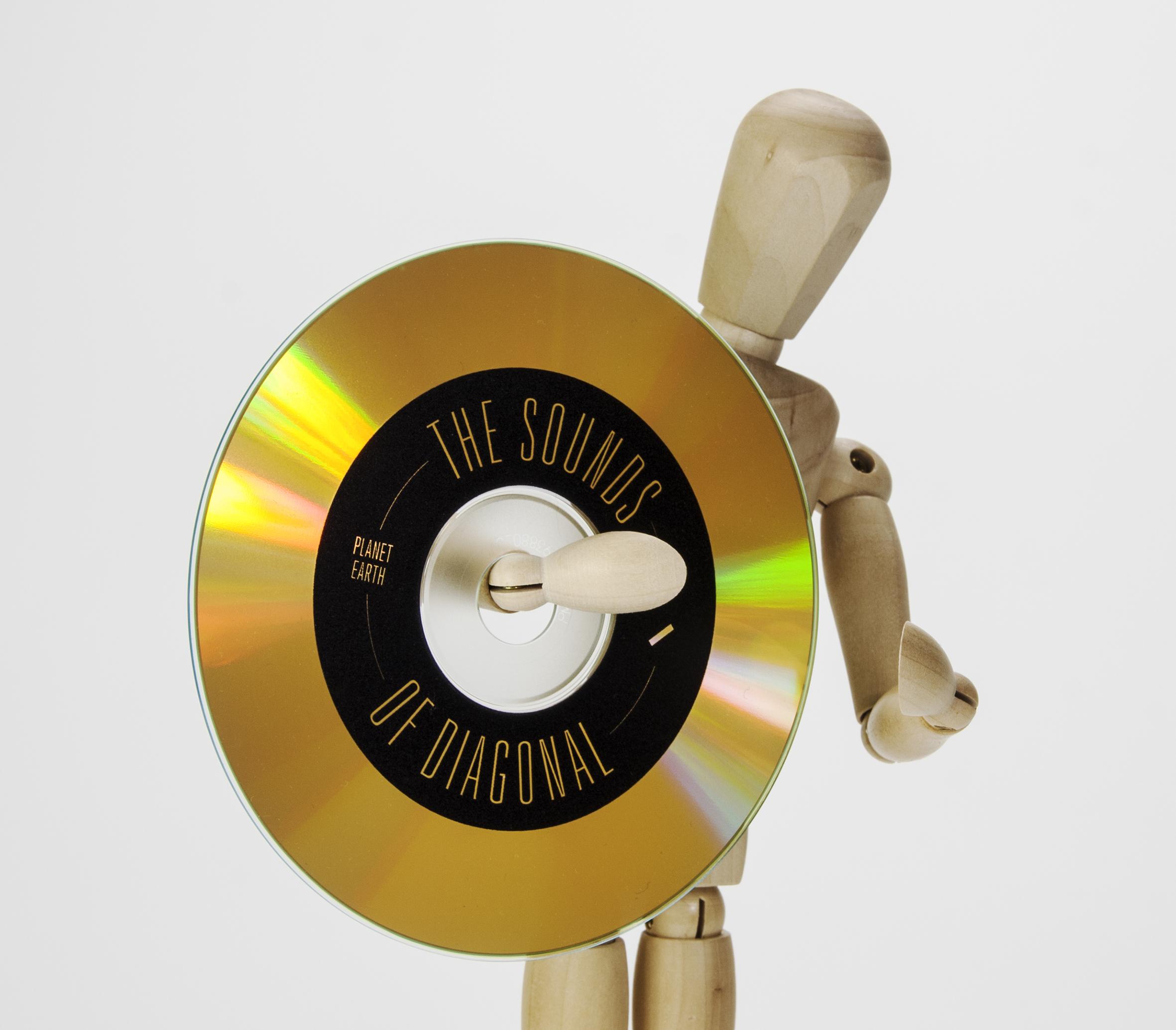 Digitaler Direktdruck Auf Unbeschichtete Cd Und Dvd