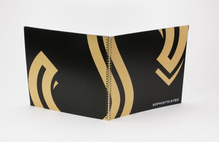 Soderfarbe Gold im Digitaldruck: Edel und schick