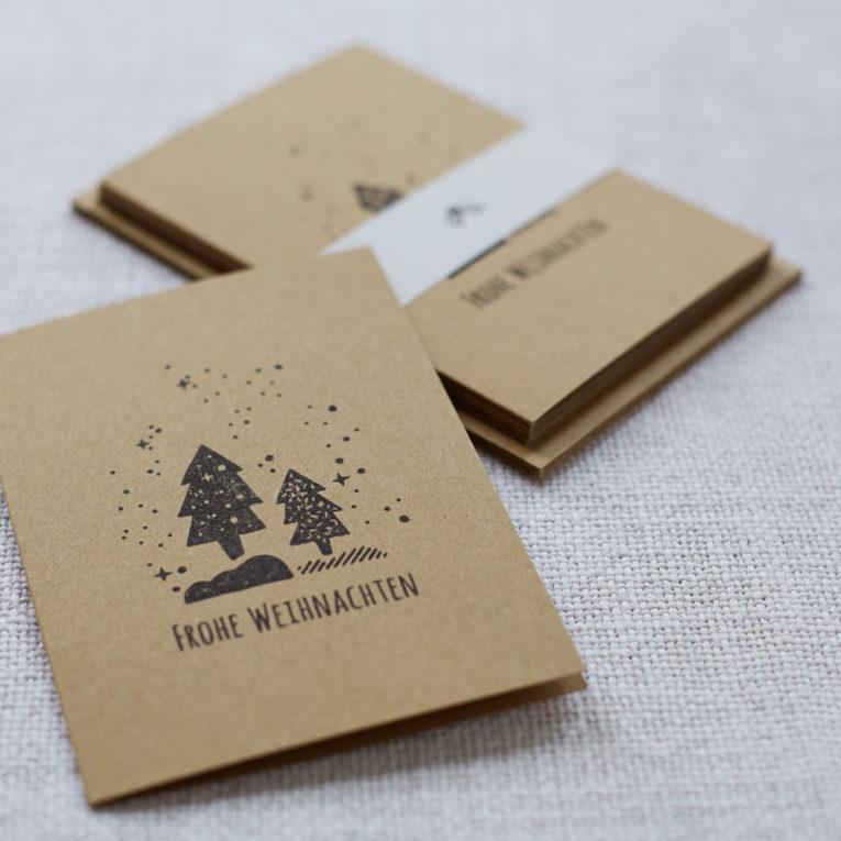 handbedruckte-weihnachtskarten-schnee