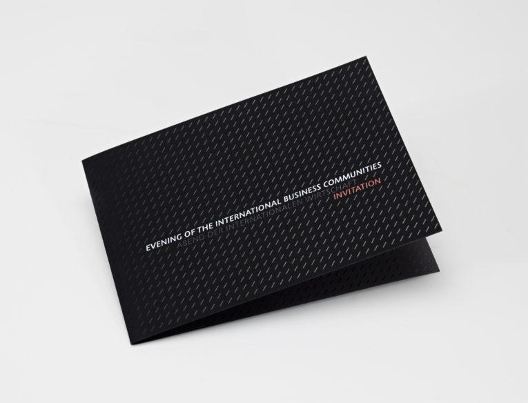 625-Klappkarte mit partieller schwarzer Druckfarbe -1571--1