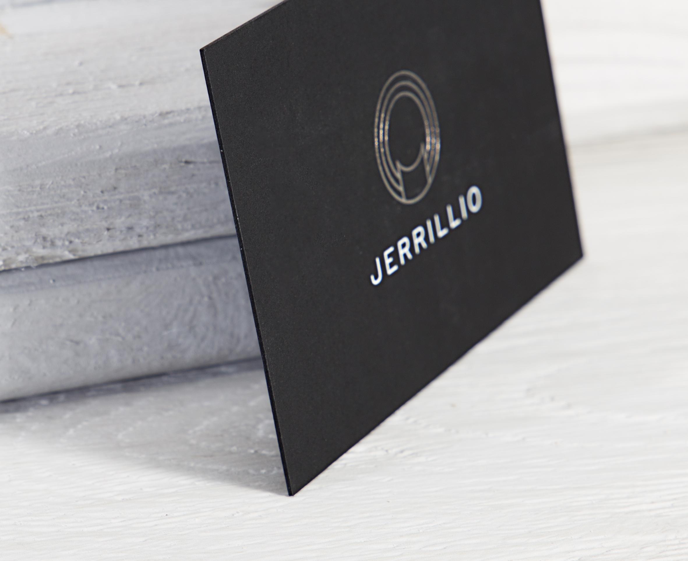 Edel und elegant durchgef rbt schwarze visitenkarten mit for Visitenkarten ideen