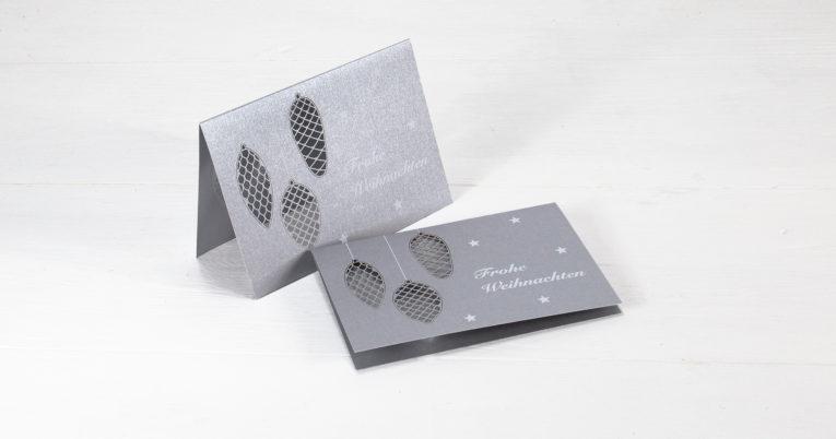 Hochwertige Weihnachtskarten.Hochwertige Weihnachtskarte Mit Filigraner Laserstanzung Tipps