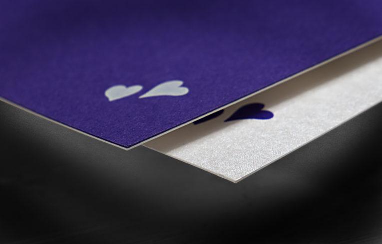 Einladungskarten für Schuberschachteln