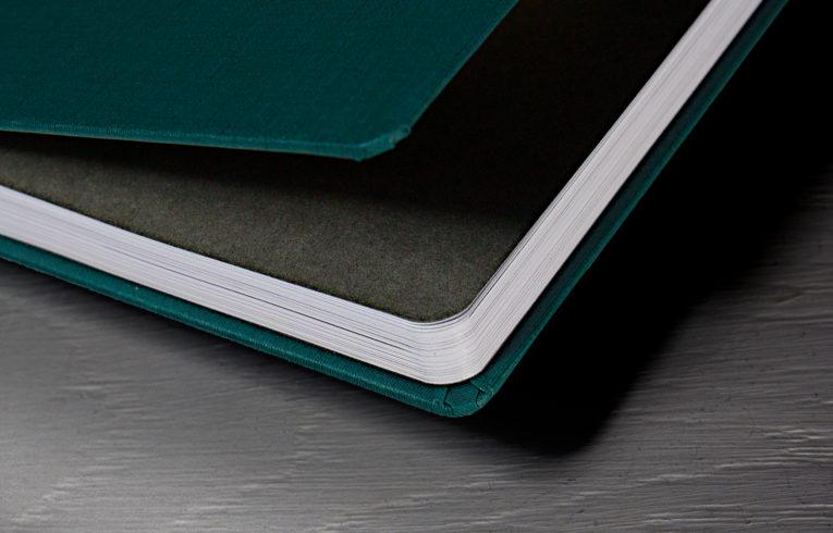 Hardcover abgerundete Ecken