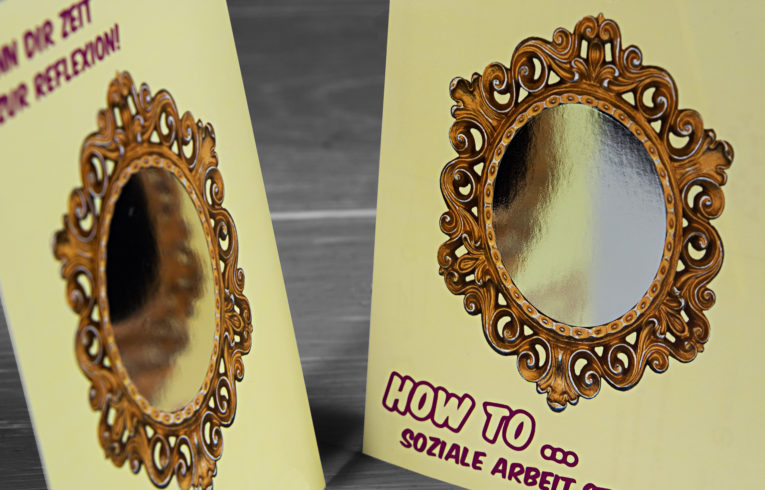 Spiegelkarton Digitaldruck
