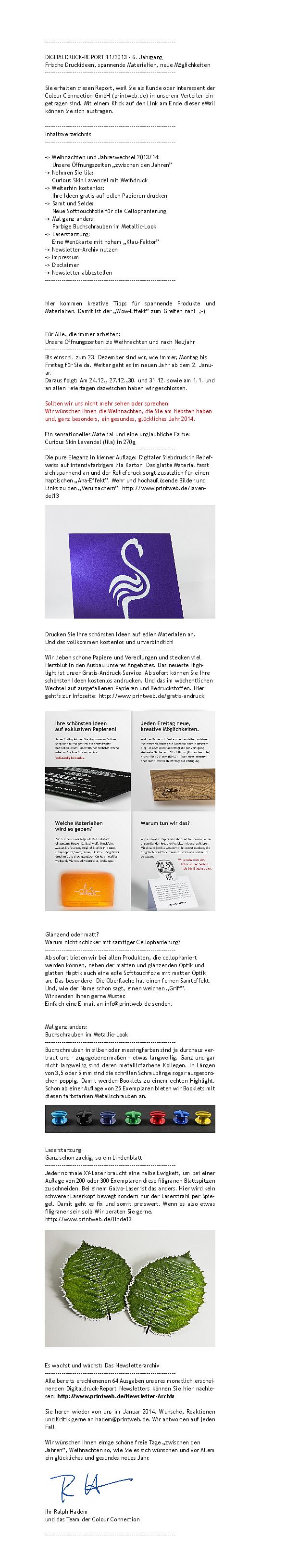 90050e2d2076e8 Archiv » Ältere Newsletter von colour-connection.de