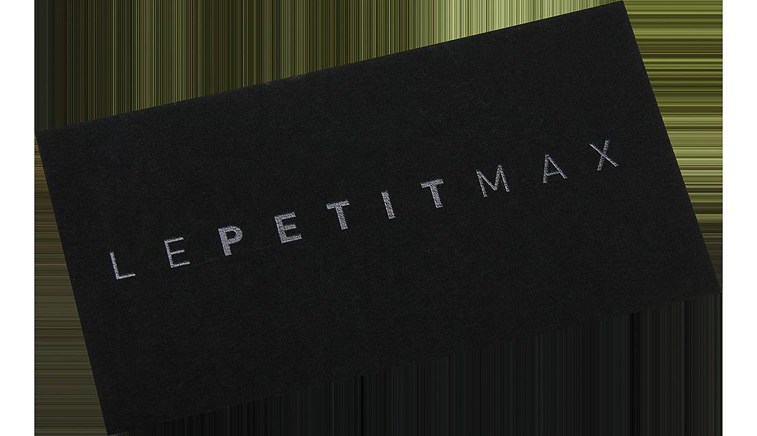 Schwarze Visitenkarten Be Ein Drucken Mit Stil