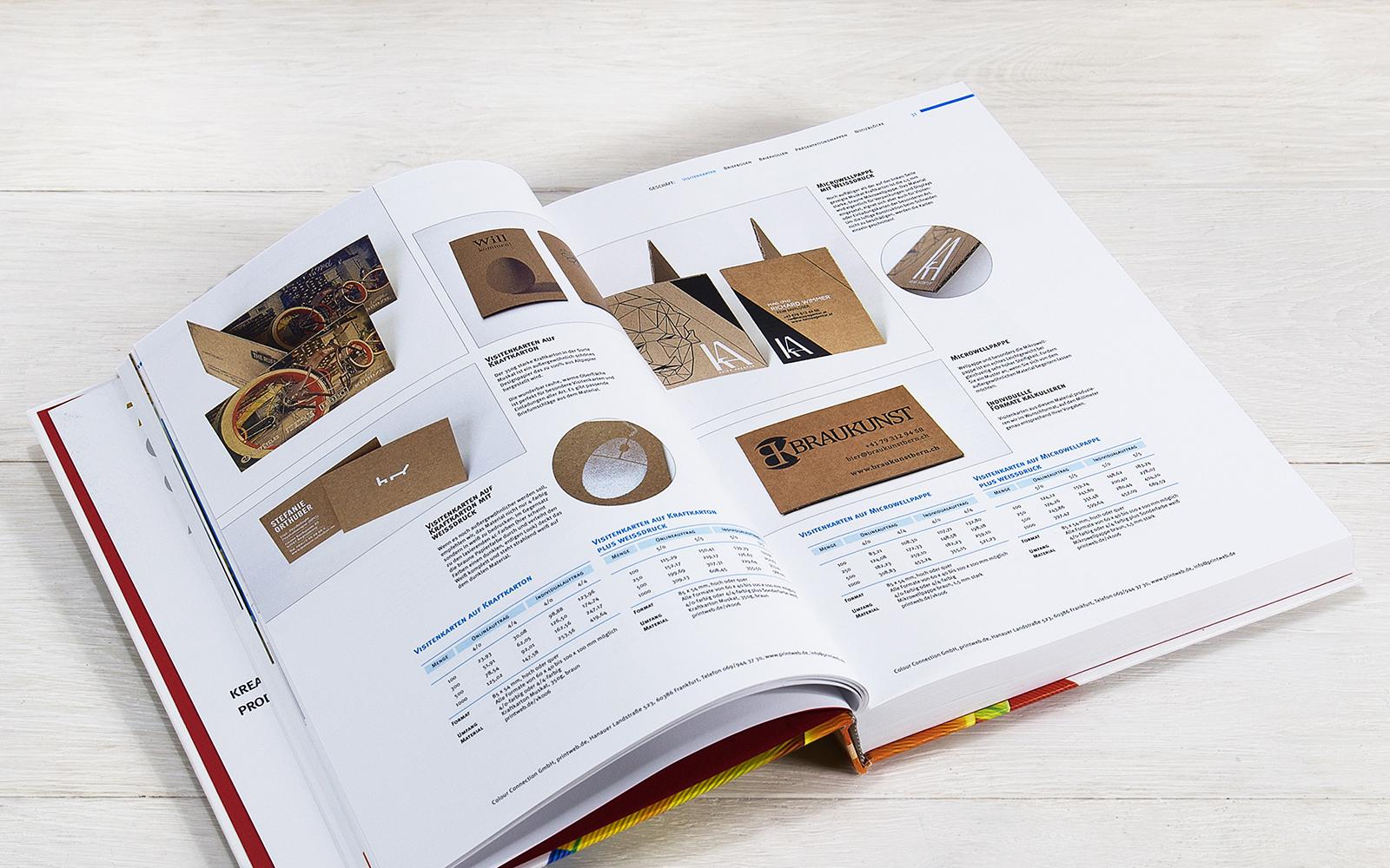 Digitaldruck Katalog Anfordern Colour Connectionde